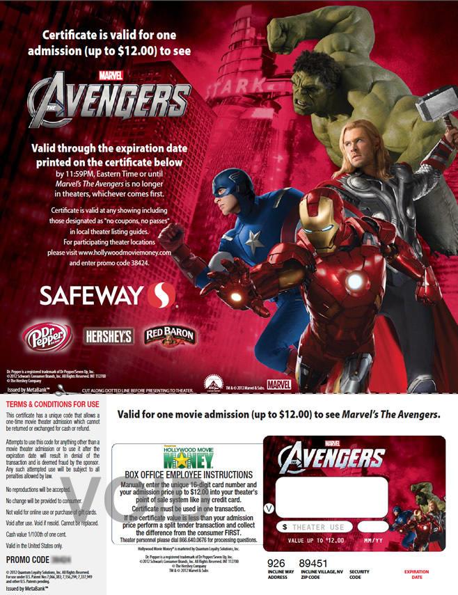 Safeway - Avengers
