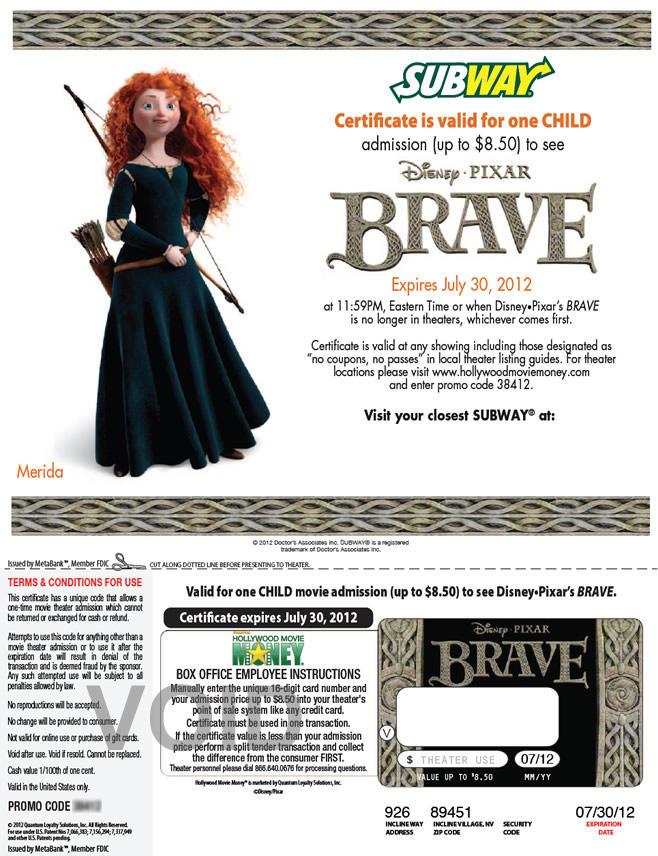 Subway - Brave