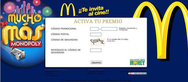 McDonalds Spain