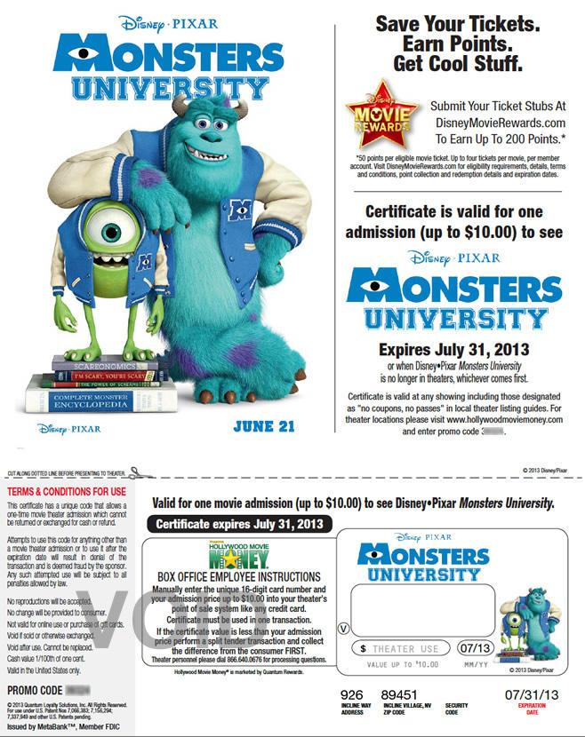 DMR - Monster's University
