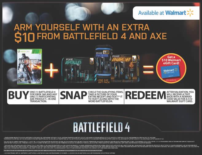 Battlefield 4 and Axe