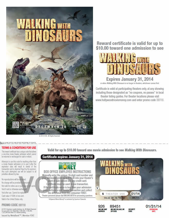 FOX - Walking with Dinosaurs