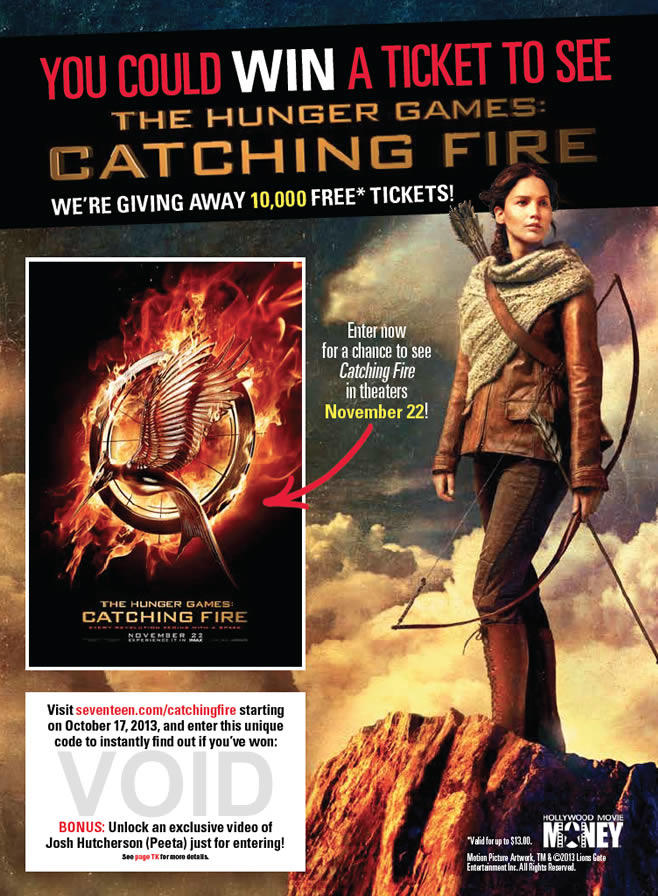 Hearst Communications, Inc - Hunger Games: Catching Fire