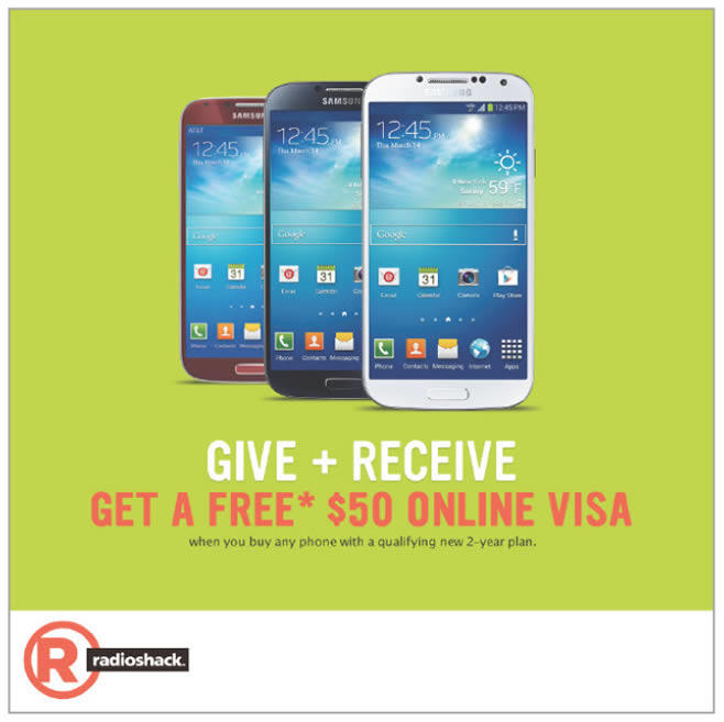 Radio Shack - Virtual Visa