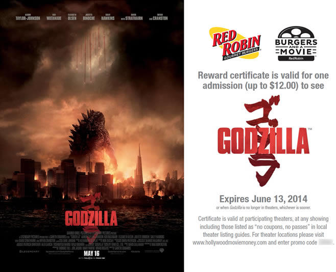 Red Robin movie certificate