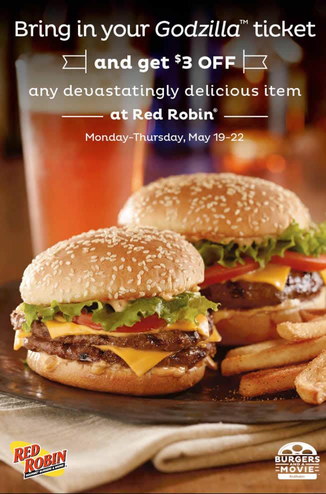Red Robin promotion