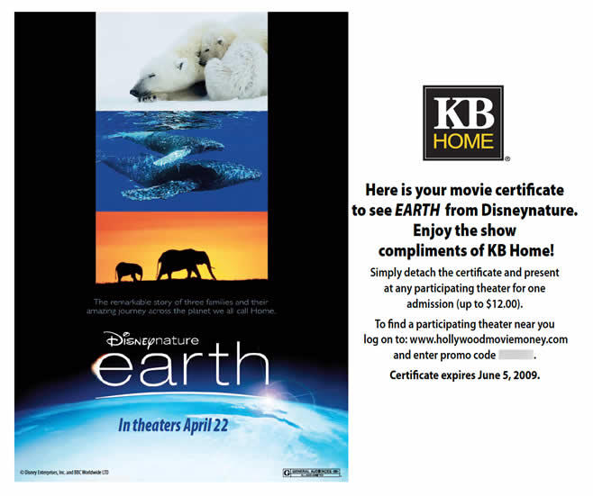 KB Homes - Earth movie