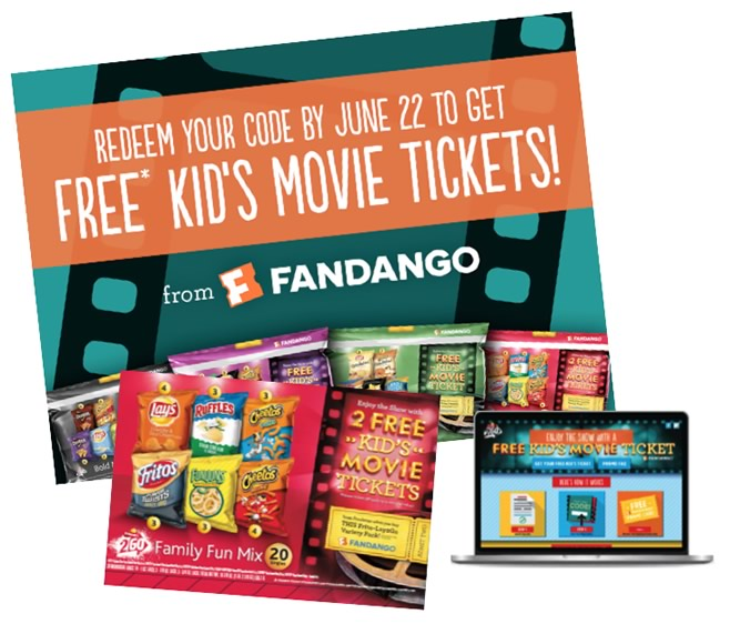 Sample programs fandango rewards frito lay2go fandeluxe
