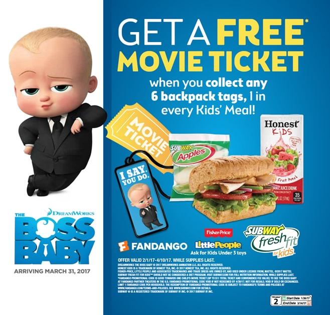 Subway - The Boss Baby