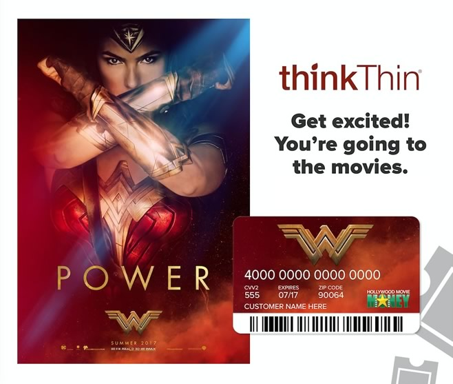 thinkThin - Wonder Woman