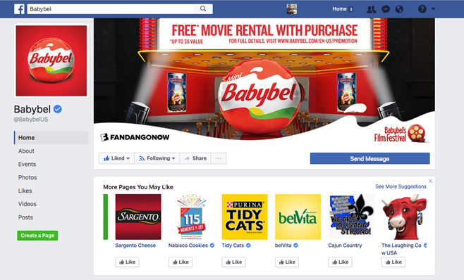 Babybel - Facebook