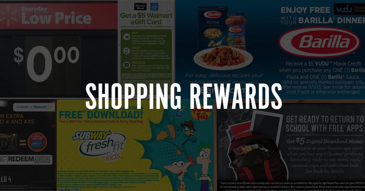 Shopping Rewards - Fandango Rewards