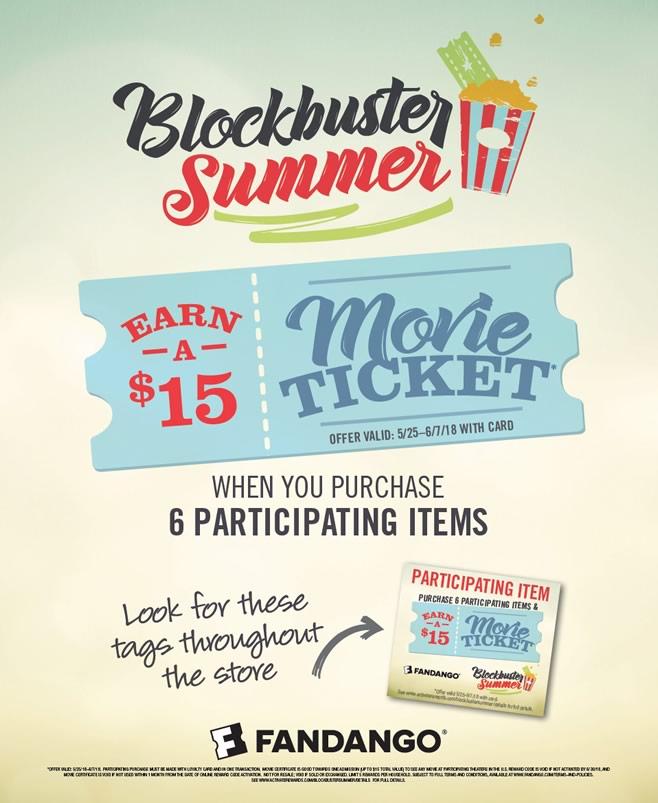 Ahold-Summer Movie Ticket Offer