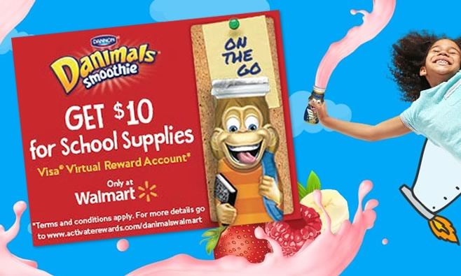 Danimals Back to School Promotion