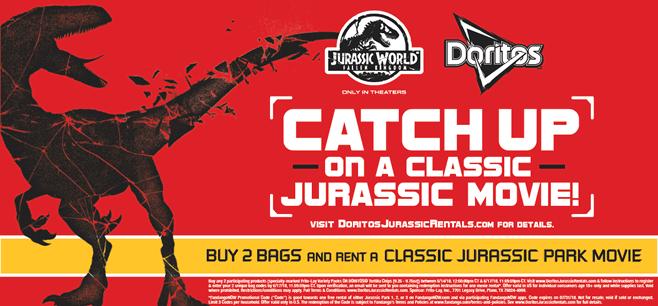 Doritos-Jurassic World Offer