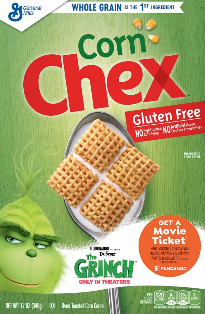 Chex and The Grinch