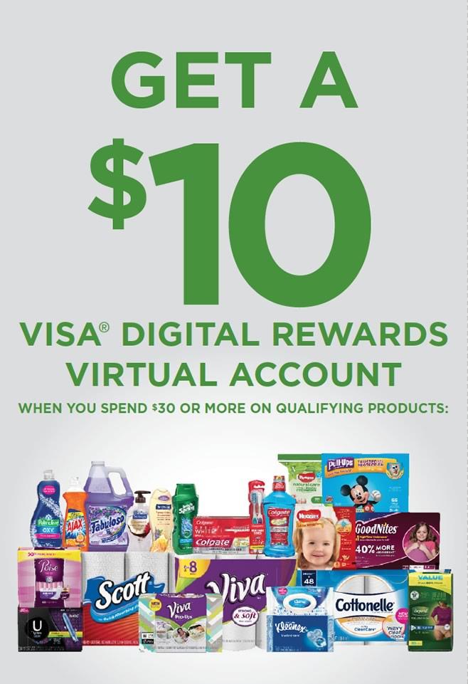 Kimberly-Clark and Colgate Digital Download Reward