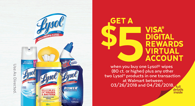 Lysol-Digital Download Promotion