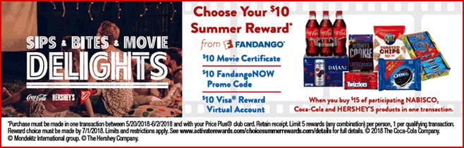 Mondelez-Shoprite Summer Rewards