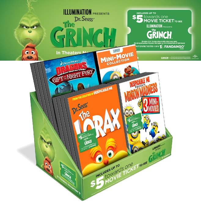 Universal-The Grinch Promotion