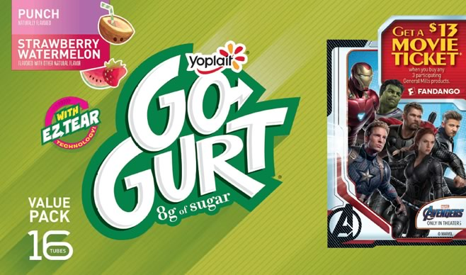 Yoplait-Avengers Promotion