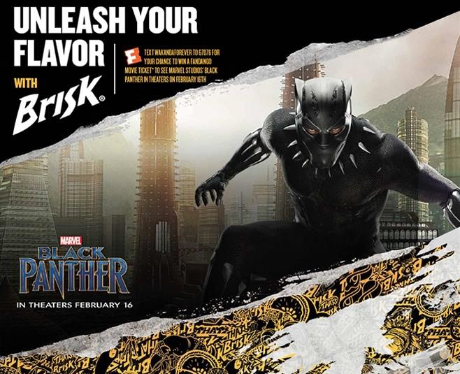 Brisk-Black Panther