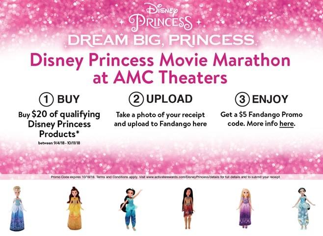 Disney-Princess Walmart Offer