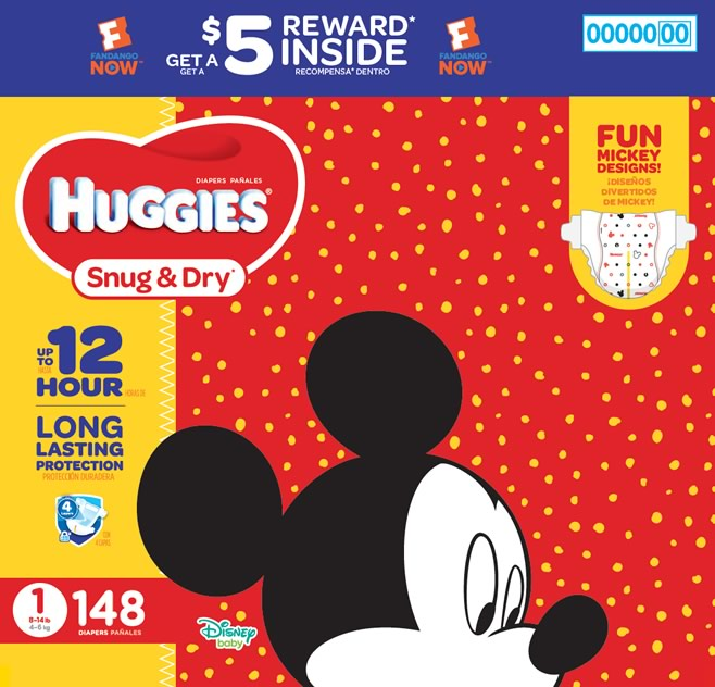 Huggies-Snug and Dry