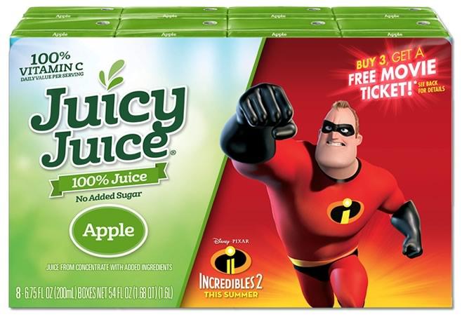 Juicy Juice-Incredibles 2