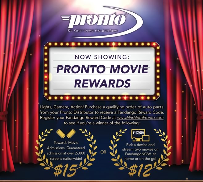Pronto Spring Promotion