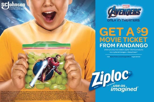 Ziploc-Avengers:Endgame