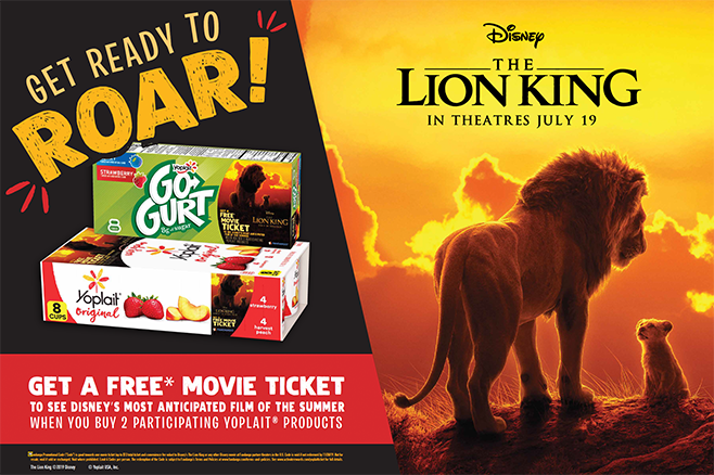 General Mills-Yoplait-Lion King