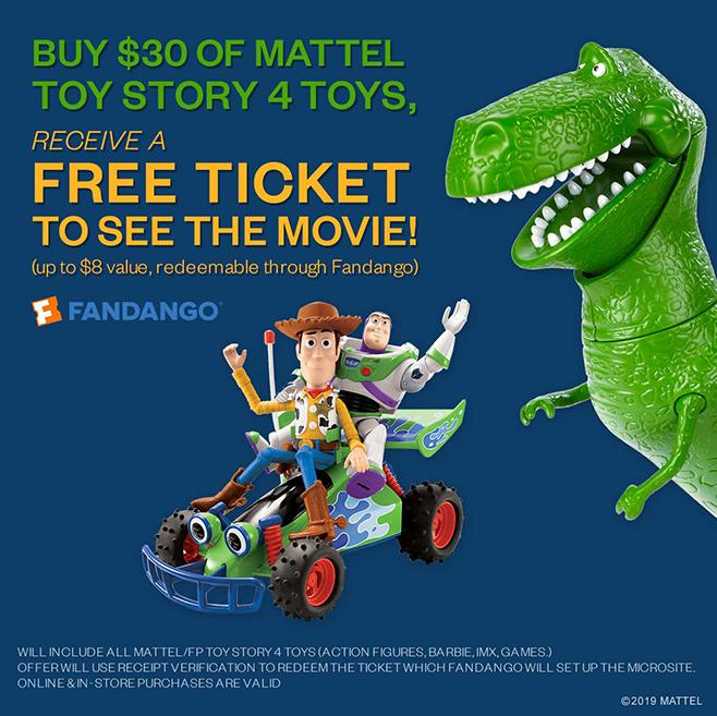 Mattel-Target-Toy Story 4